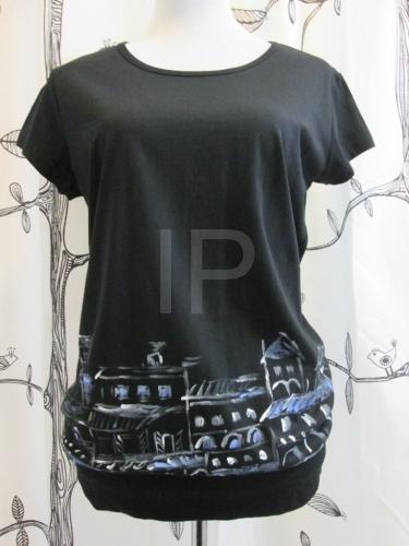 d885ddce51a Ručně malované dámské tričko ADA025