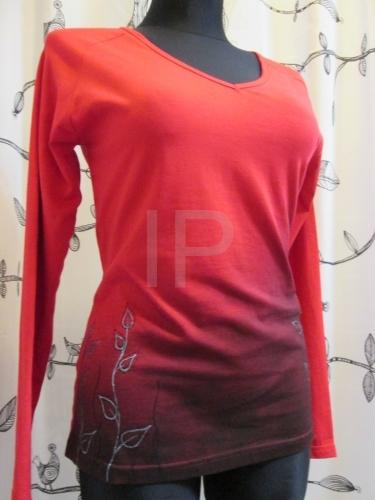 4e236654435 Ručně malované dámské tričko ADA033